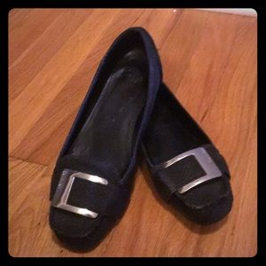 Calvin Klein Shoes - Used Calvin Klein snake print loafers